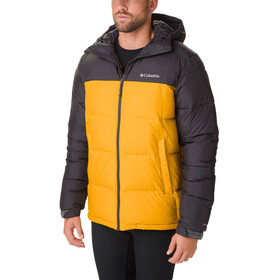 Columbia Pike Lake Chaqueta con capucha Hombre, golden yellow/shark